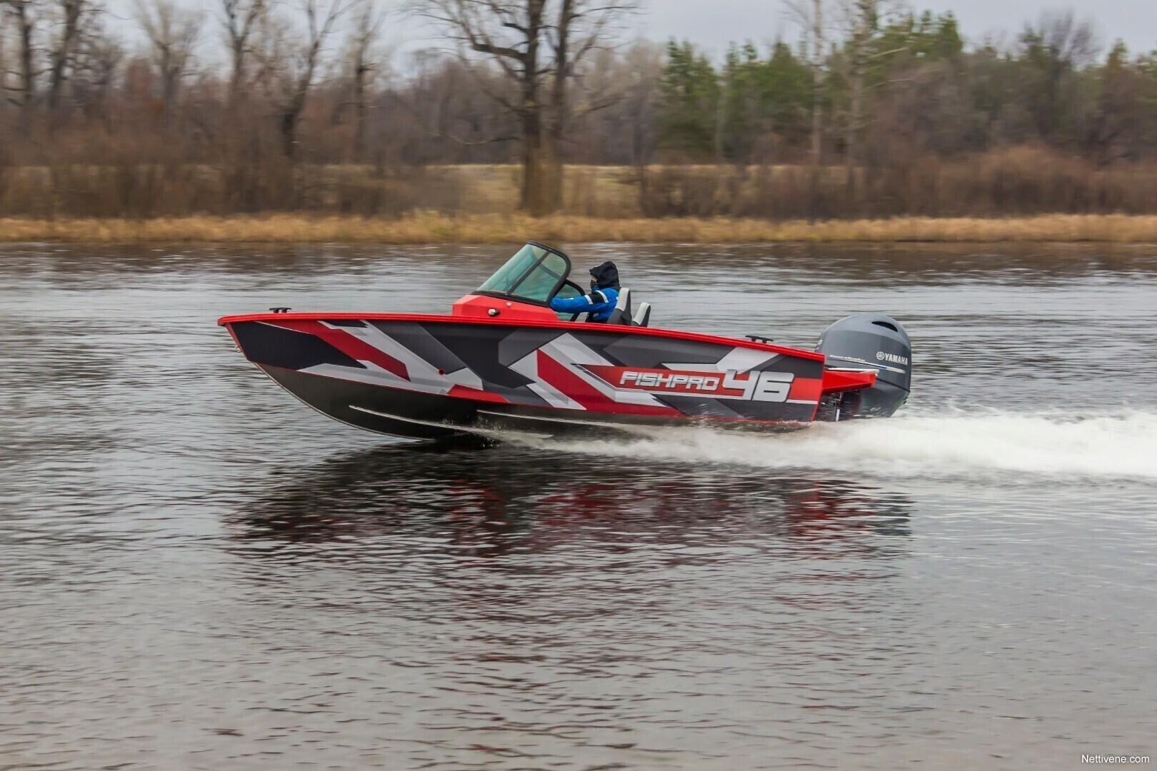 Fish Pro 46 + F80 UUTUUS