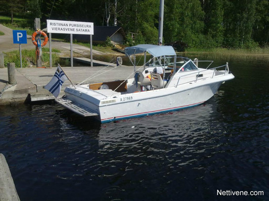 Chris craft seahawk 215 wa volvon td motor boat 1989 for Seahawk boat paint