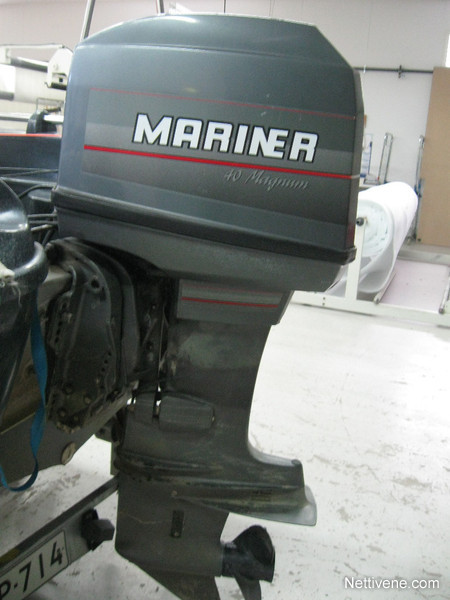Mariner Magnum 40 Engine 1997 - Lepp U00e4virta