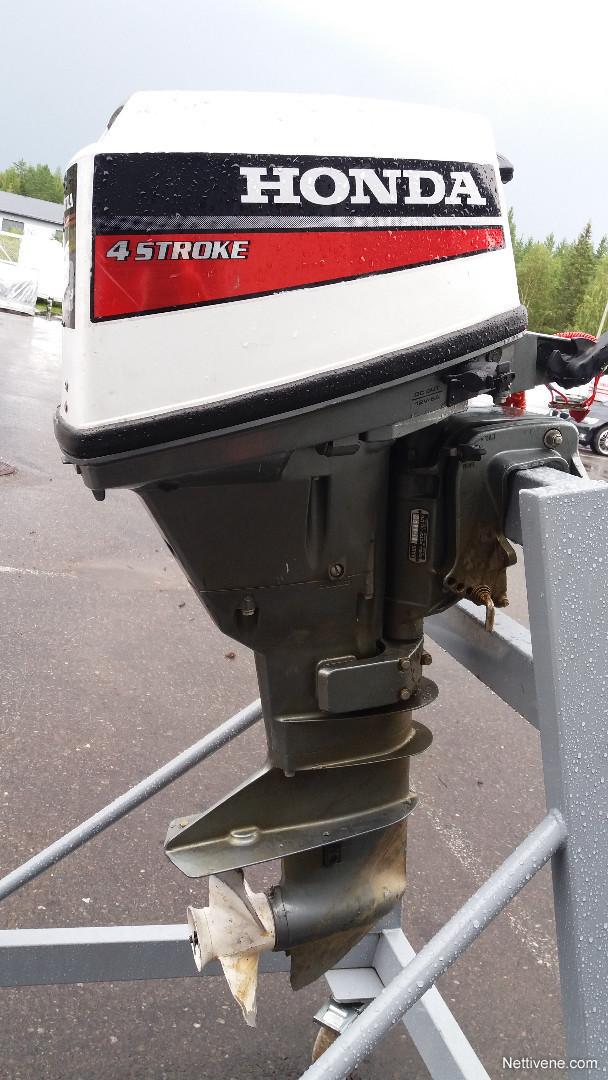 Honda 9 9 hv 4 tahti engine rovaniemi nettivene for How to winterize a honda 4 stroke outboard motor