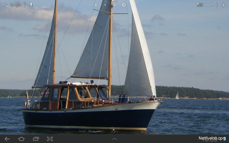 Nauticat 33 Huutokaupataan Motorsailor 1970 Raisio