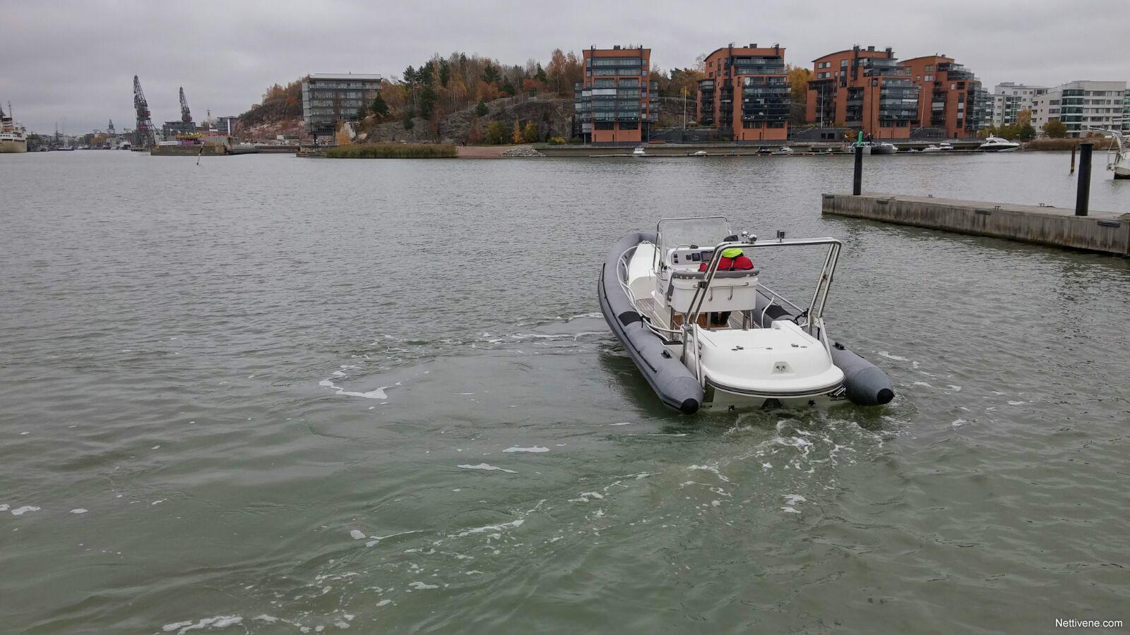 Blue Water Boats >> Rib Arctic Blue 27 Motor Boat 2005 Vaasa Nettivene