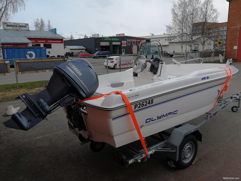 Olympic 490 Motor Boat 2015 Oulu Nettivene