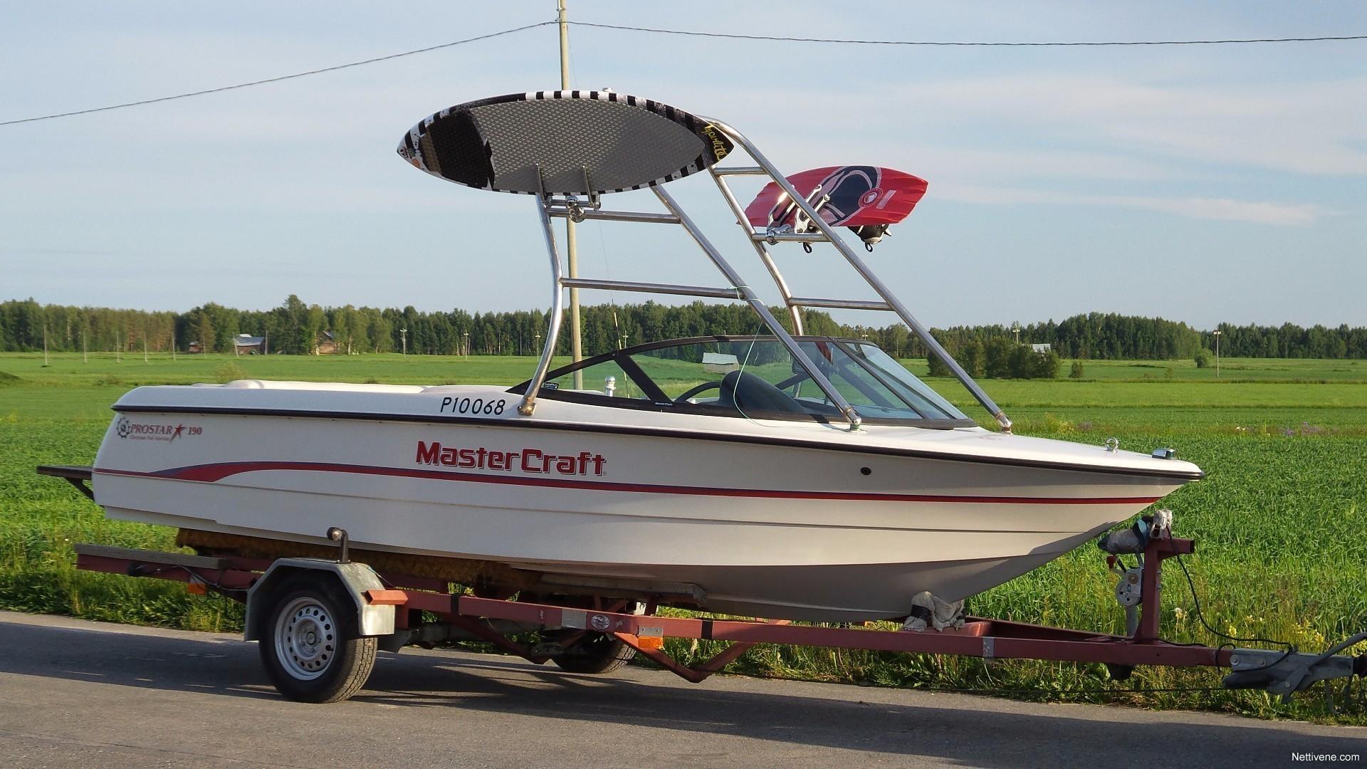 Mastercraft Prostar 190 Motor Boat 1995 Lapua Nettivene