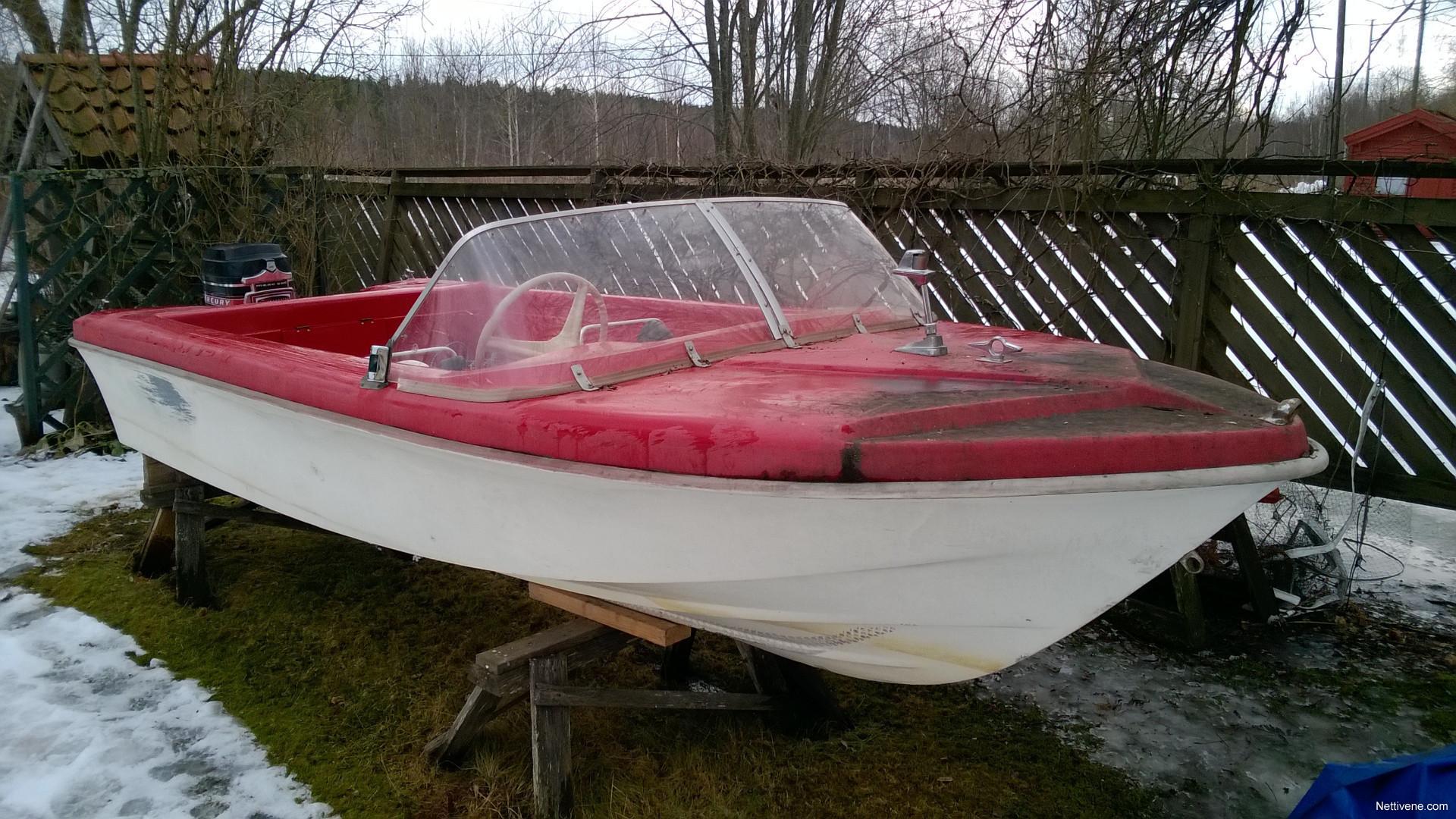 Mustang 14 Speedboat >> Marino Sport V 14 Mustang Motor Boat 1969 Heinola Nettivene