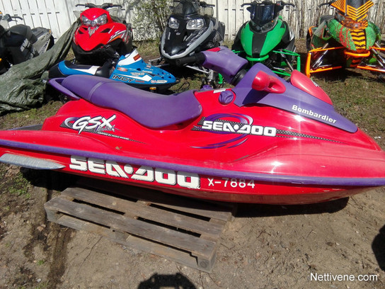 Sea Doo Gsx Limited Watercraft 1998