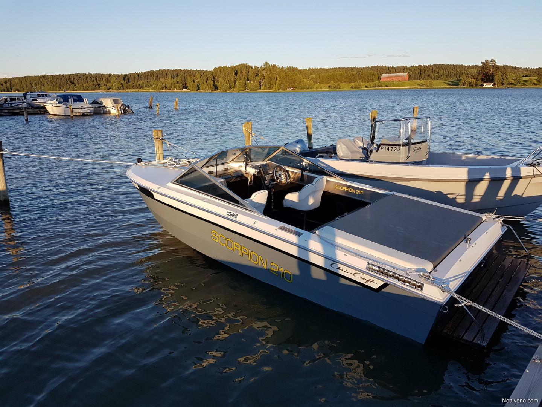Chris-craft Scorpion 210 motor boat 1986 - Kaarina - Nettivene