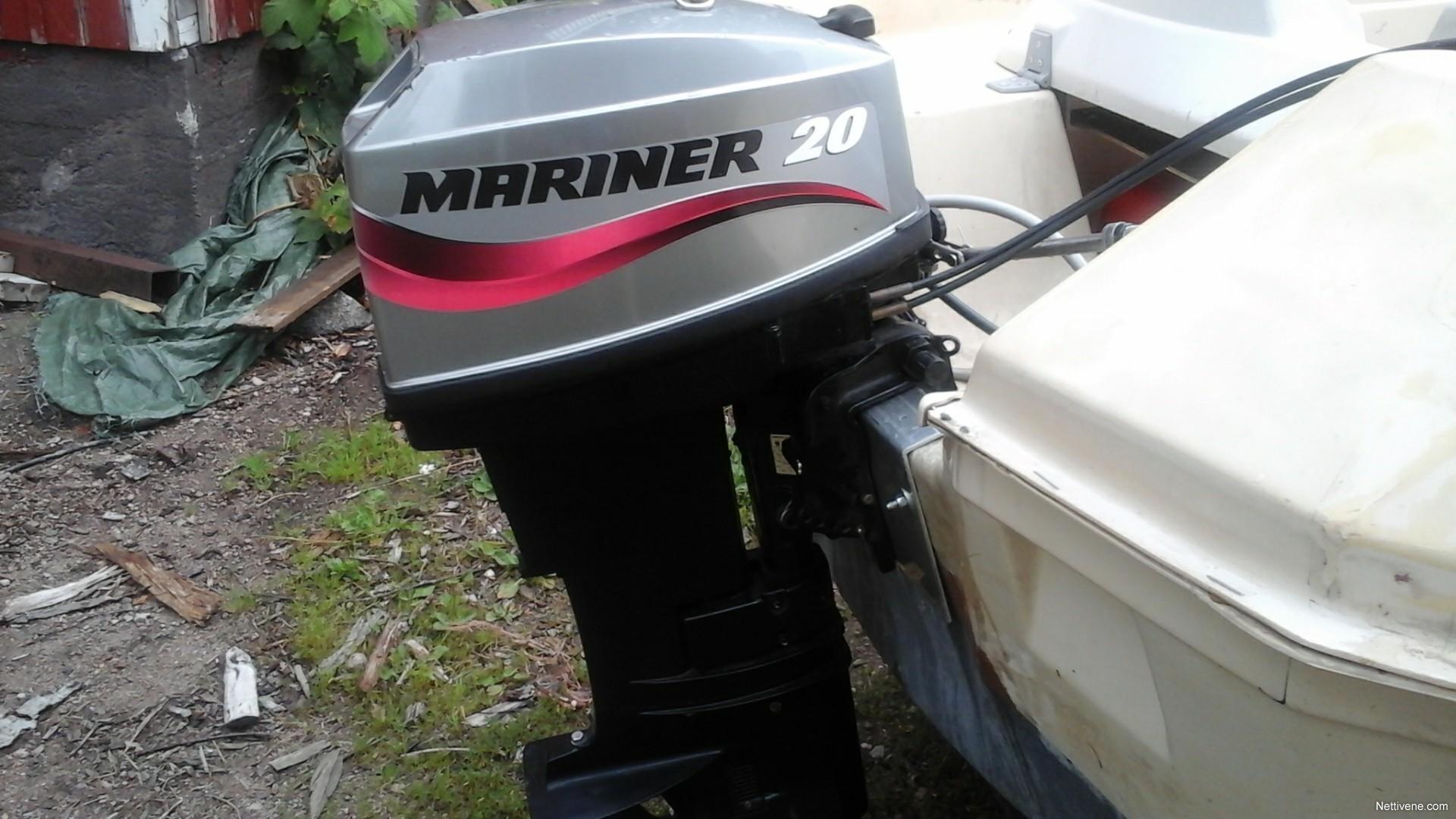 mariner 20 hp s u00e4hk u00f6st engine 2004 - kouvola