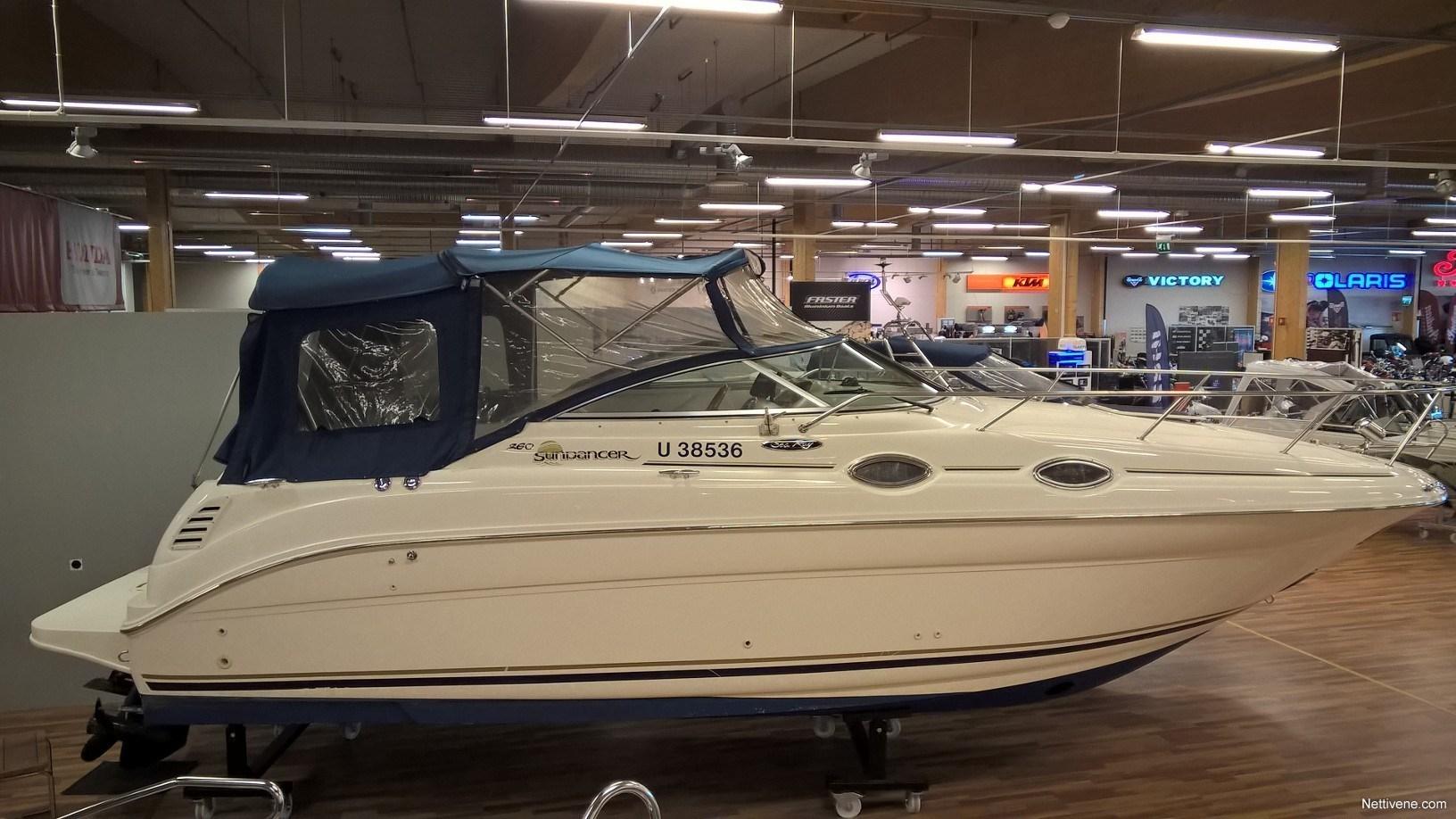 Sea ray Sundancer 260 motor boat 2001 - Turku - Nettivene