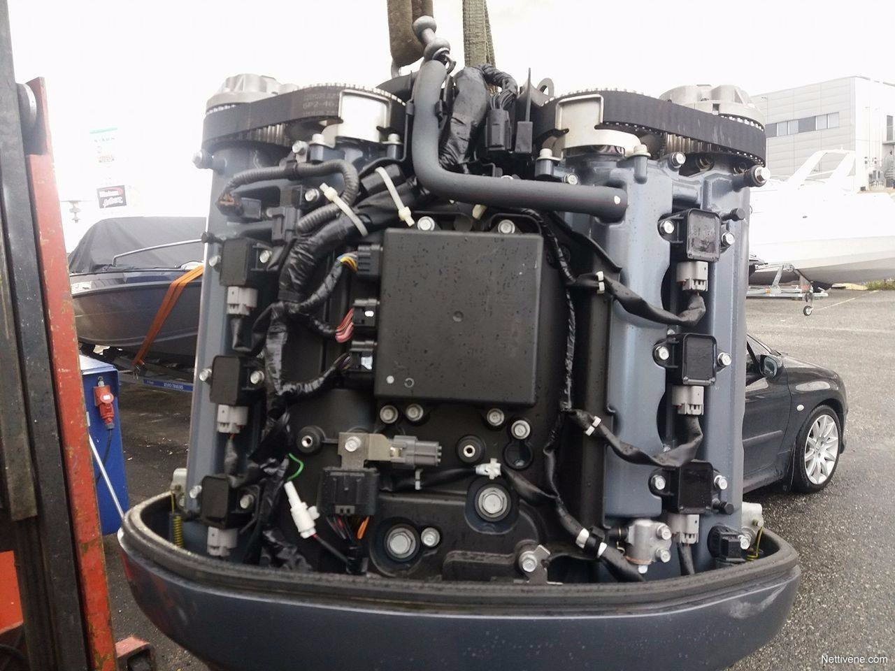 Yamaha F250 XL engine 2008 - Raisio - Nettivene
