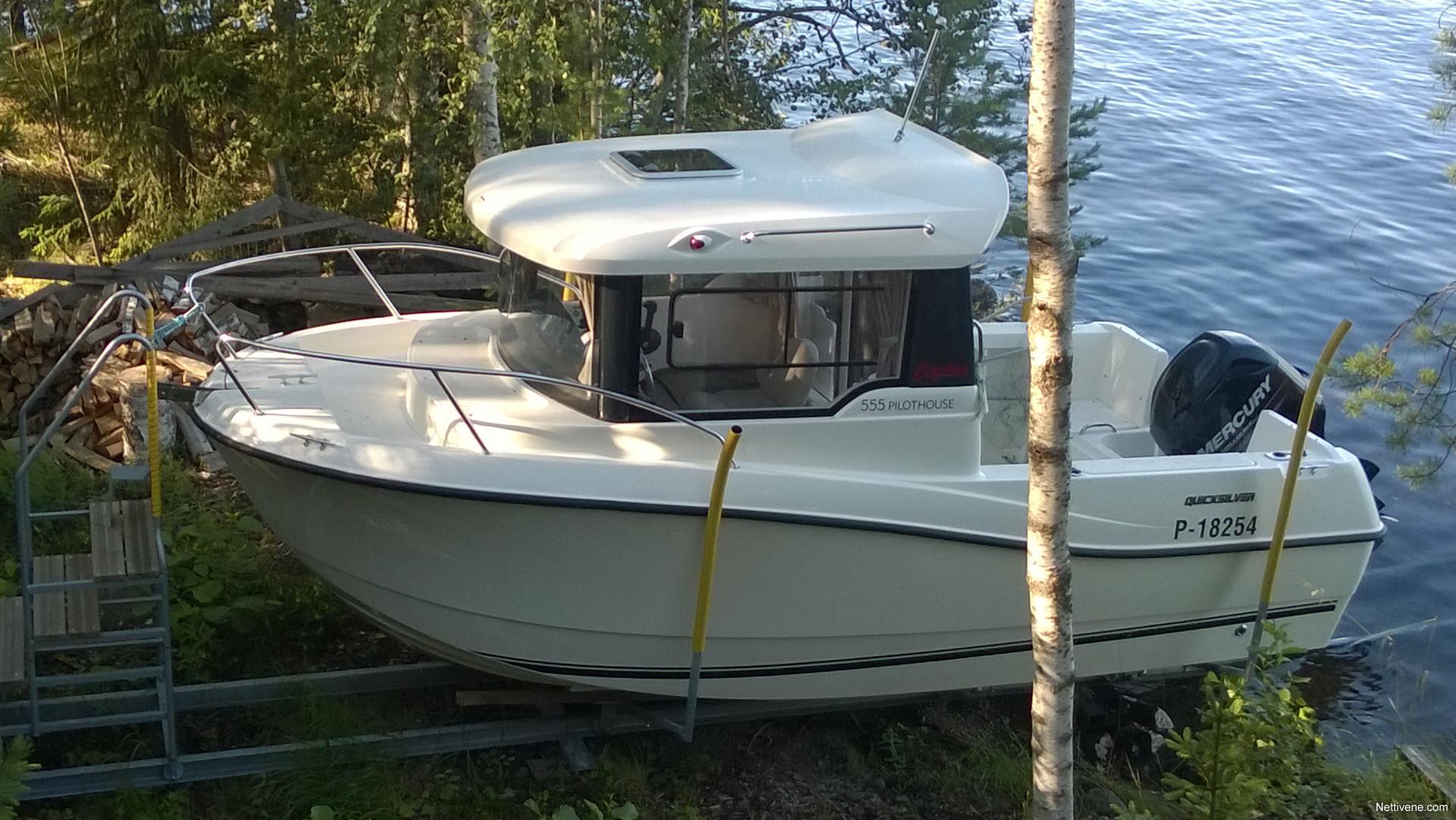 Quicksilver Captur 555 Pilothouse Motor Boat 2014
