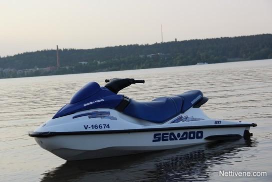 Sea-doo GTI + Traileri watercraft 2003 - Lempäälä - Nettivene