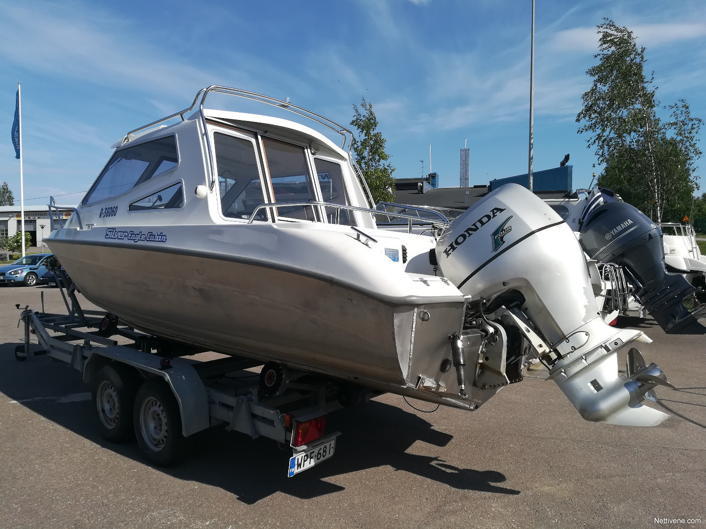 Silver Eagle 650 Cabin Motor Boat 2005 Lahti Nettivene As Well Trailers For Sale On Trailer Wiring Enlarge Image