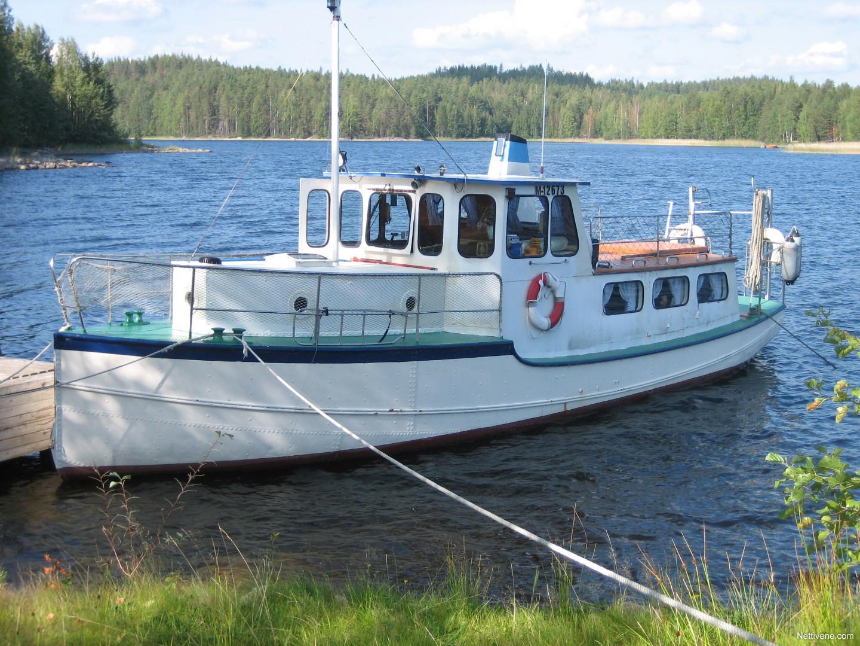 Teräsvene Hinaaja moottorivene - Puumala - Nettivene