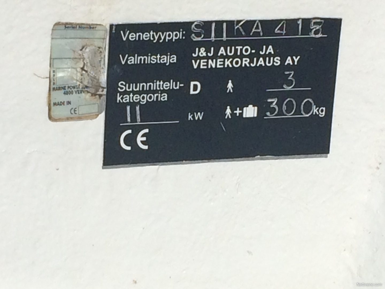 J And D Auto >> Mariner Siika Motor Boat Joensuu Nettivene