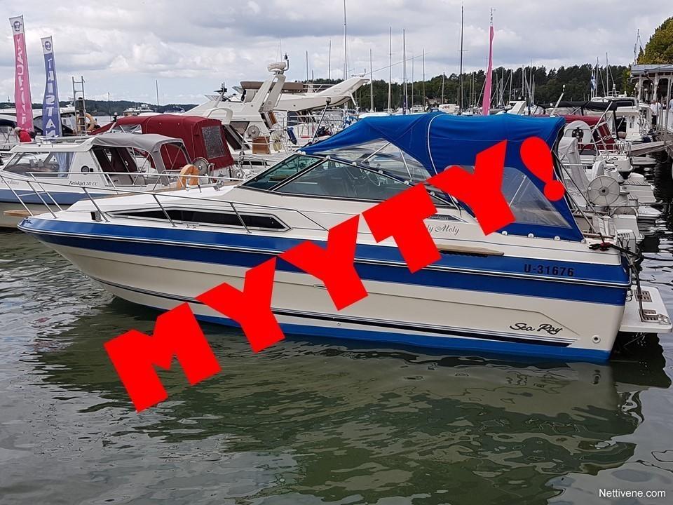 Previous Next Sea Ray 250 Sundancer 1987 2006 Moottorivene