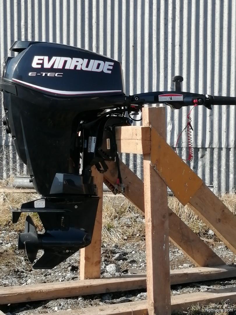 Evinrude E25DTEIIH engine 2011 - Vöyri - Nettivene