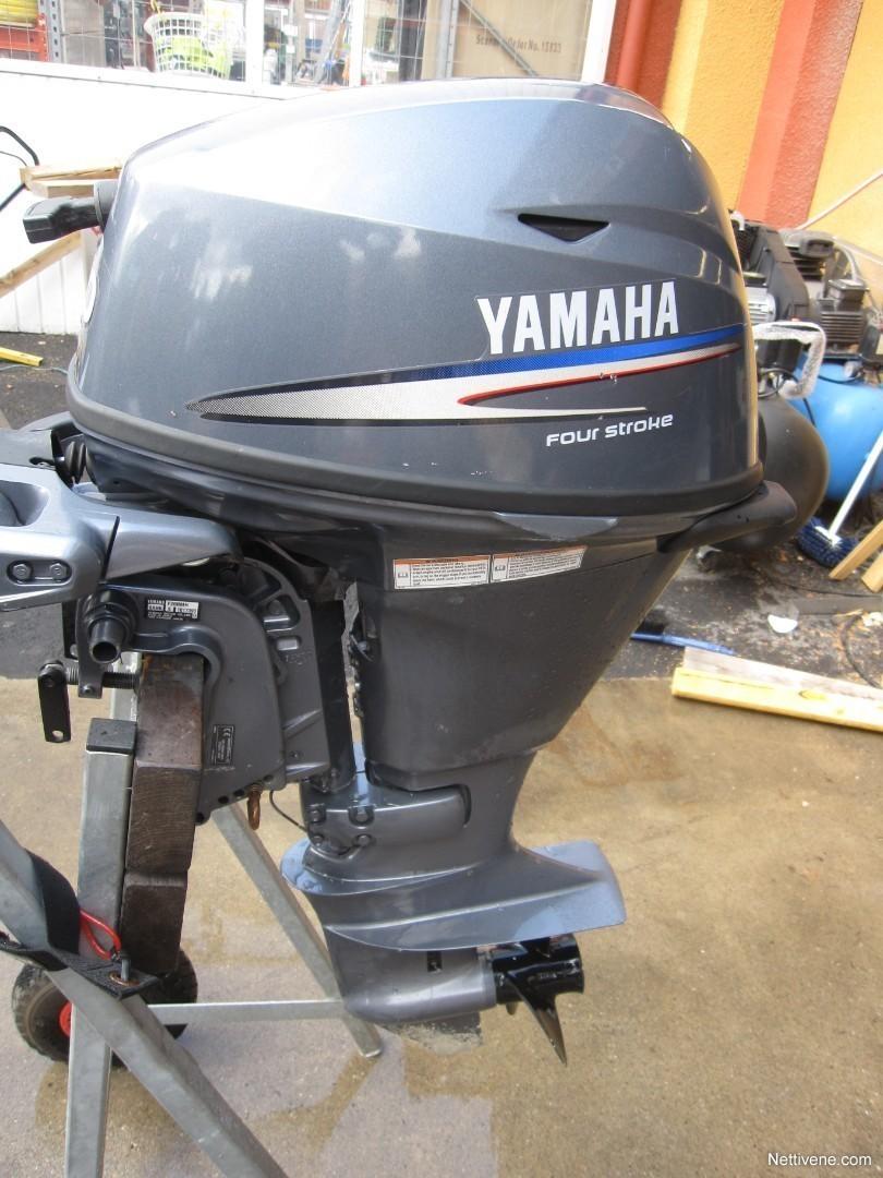Yamaha F20 engine 2009 - Asikkala - Nettivene